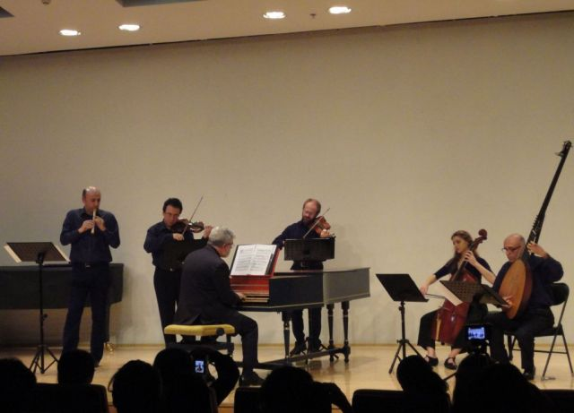 Seicentonovecento at Central Conservatory of Music in Beijin, 2011